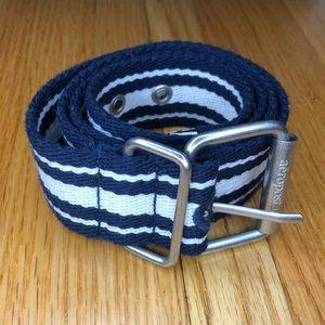 Aeropostale Navy & White Belt